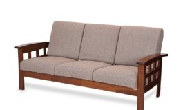 Sydney Five Seater Sofa 3-1-1 (Brown) by Royaloak
