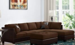 Urban Georgetown 103″ Reversible Sectional with Ottoman